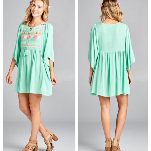 Yummy Pastel Mint Plus Size Tunic or Dress Boutique